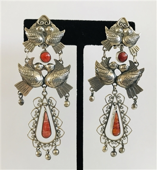 FRIDA KAHLO STYLE EARRINGS