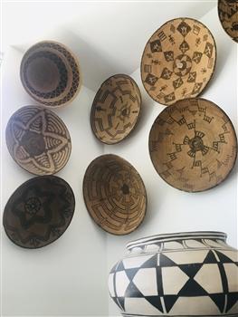 NATIVE AMERICAN INDIAN BASKETS